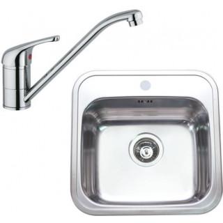 Kuchyňský set Sinks (dřez Manaus 460 + baterie Vento 4)