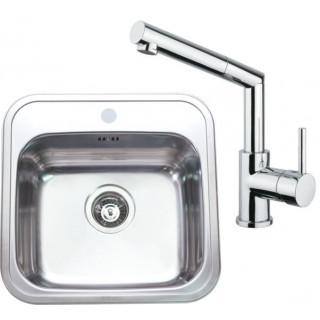Kuchyňský set Sinks (dřez Manaus 460 + baterie Mix 350 P)