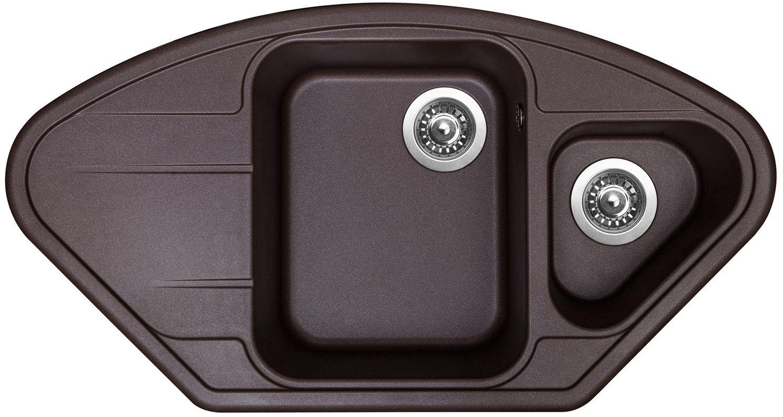 Kuchyňský dřez Sinks Lotus 960.1 Marone 93