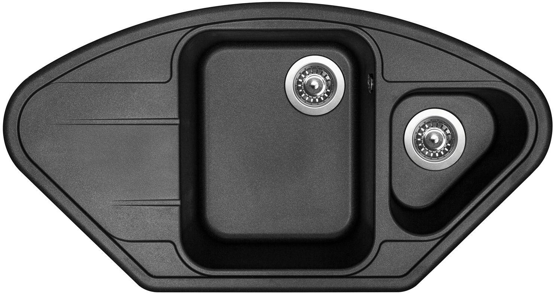 Kuchyňský dřez Sinks Lotus 960.1 Metalblack 74