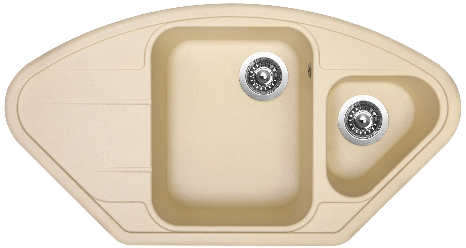 Kuchyňský dřez Sinks Lotus 960.1 Sahara 50