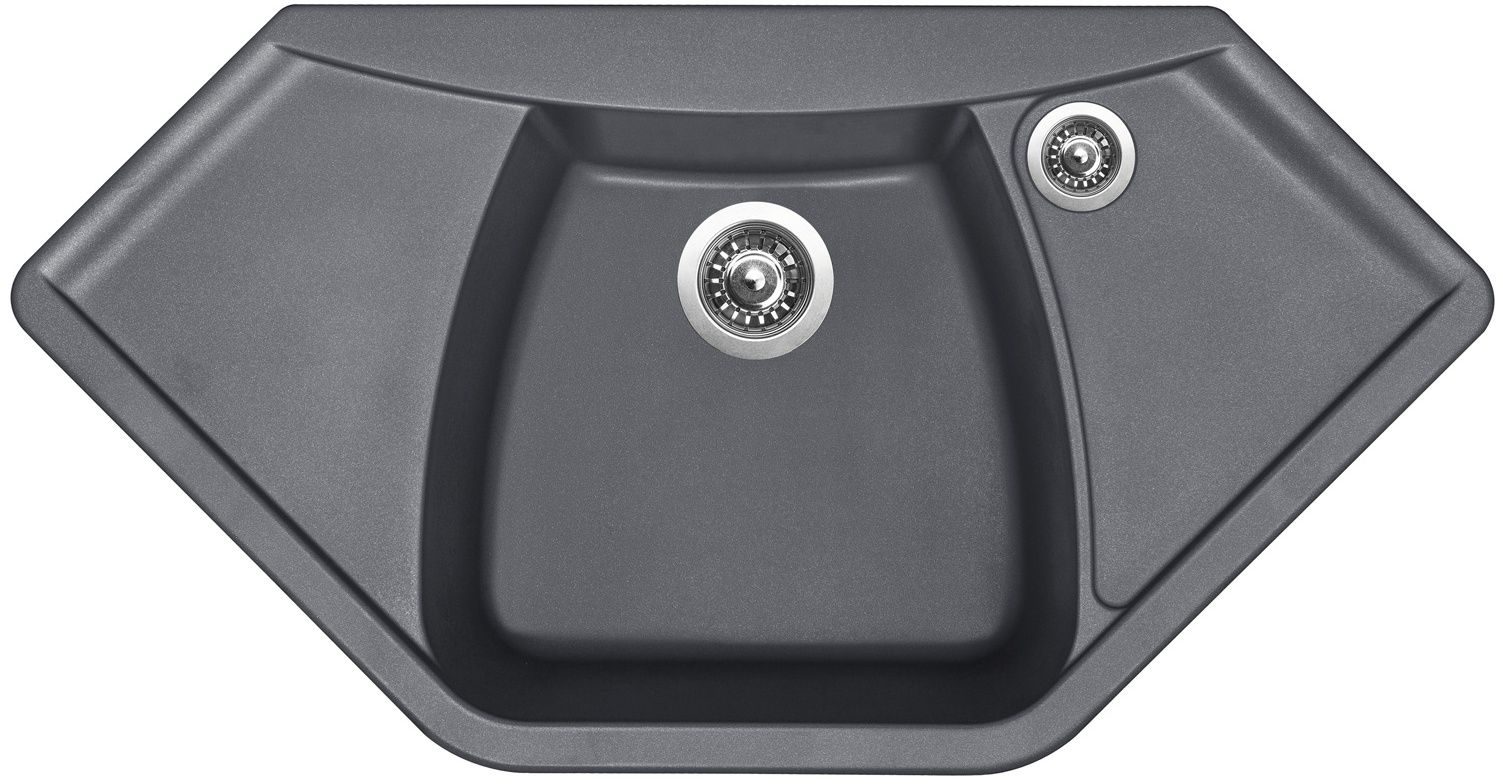 Kuchyňský dřez Sinks Naiky 980 Titanium 72