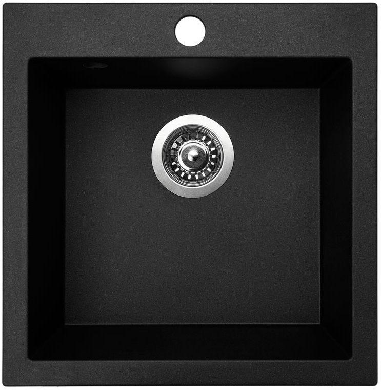 Kuchyňský dřez Sinks Viva 455 Granblack 30